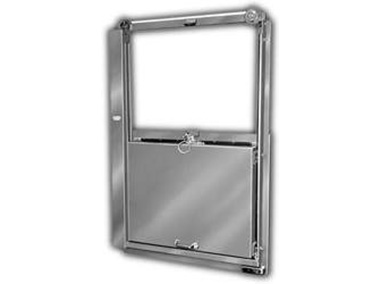 Mark IV® Vertical Sliding Package Passing Door