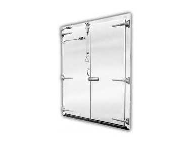 Plyfoam Swinging Double Cooler and Freezer Doors