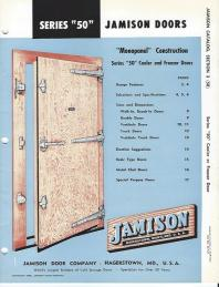Introduced the Series 50 cold storage door  sc 1 st  Jamison Door Company & Company History | Jamison Door Company
