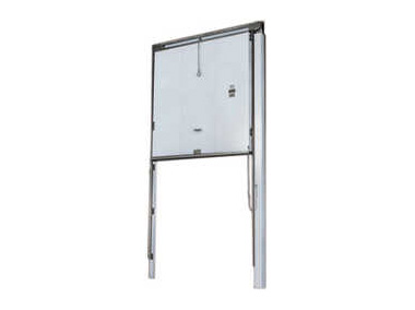Mark IV Vertical Sliding Manually Operated Door Jamison