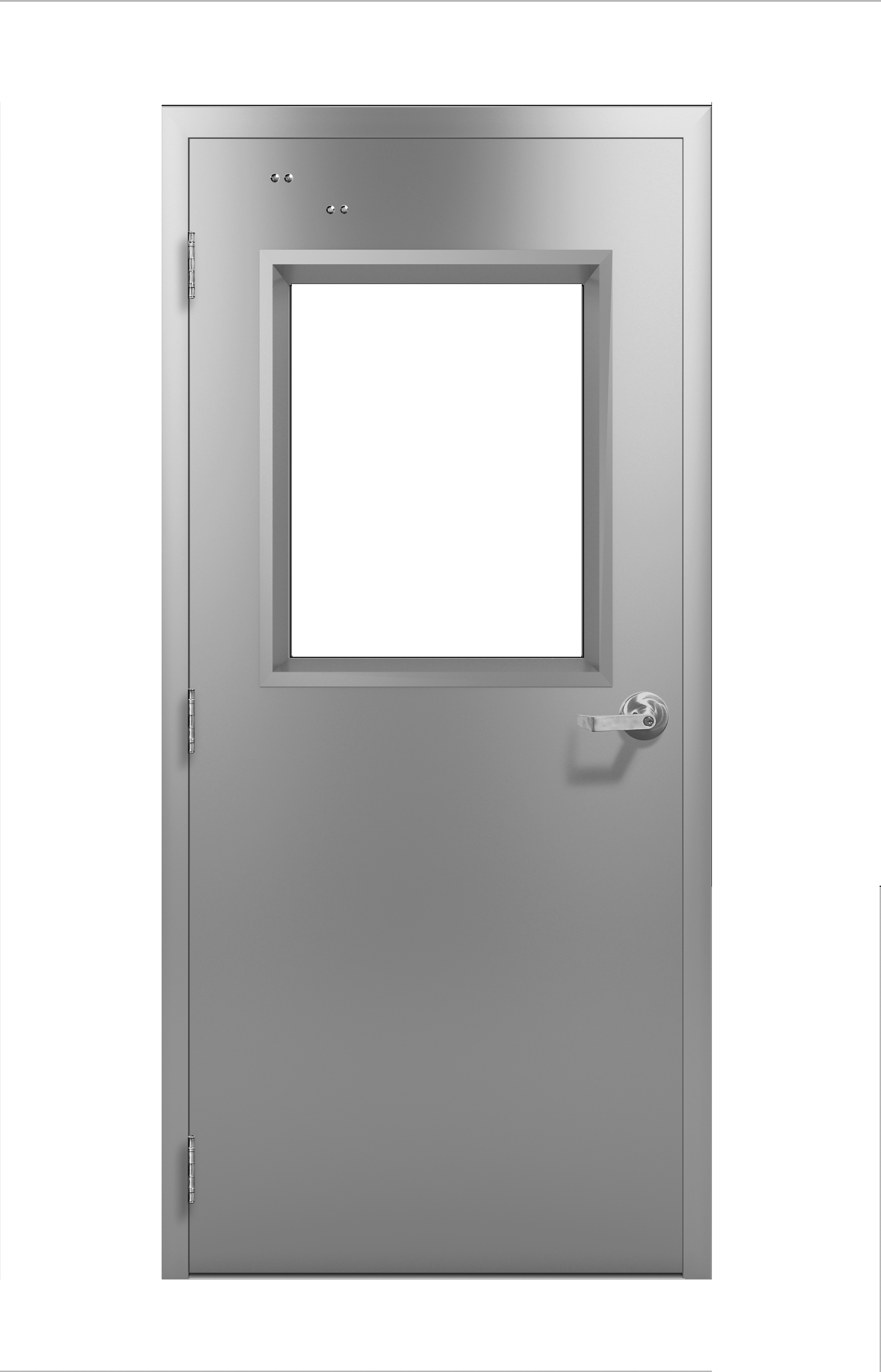 Jamoclean Stainless Steel Architectural Style 1 3 4 Swing Door