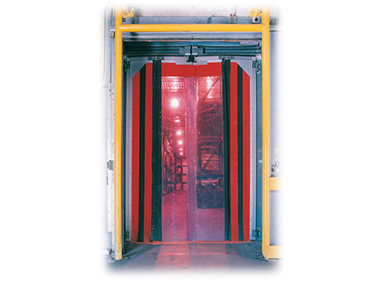 Invision Bi-folding Power Operated Deep Vestibule Freezer Door