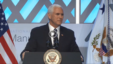National Association of Manufacturers: Vice President Pence and Jamison Door