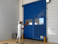dynamicroll pe washdown highspeed door